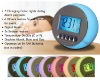 Natural Sound Color Changing Clock