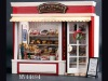 diy Miniature wood house ,dolls toy weeden house -European travel diary from the Paris bakery