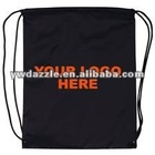 2012 promotional plain kid's drawstring bag for kids