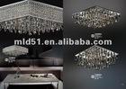 2012 hot sale Modern round Crystal ceiling light