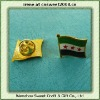 Custom Epoxy Flag Badge