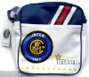 2012 High quality inter milan sports bag white and blue colors