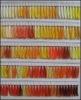 embroidery thread color card