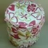 Beautiful Flower Pattern Printed Folding Laundry Net Washing Bag For Laundry