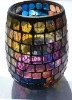 New Design home decoration,Handcraft glass mosaic candle holder