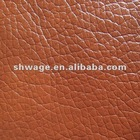 waterproof Lichee texture microfiber PU leather for sports shoes