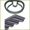 Rubber conveyor belt for industry