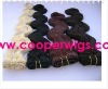 cheap high quality 100% human hair weaving/ extension in stock