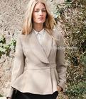 lady garment wool coat 2012
