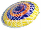 Foil Flying disc, inflatable flying disk balloon
