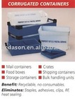 Ultrasonic Blister Packing Machine For Corrugated Containers