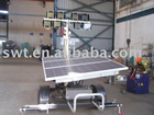 SWT Solar lighting tower