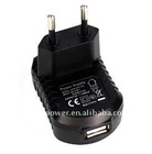 C-UL/UL/CE/SAA/PSE safety approved 6W series USB adapter