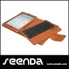 New release brown detachable wireless keyboard case for ipad mini 7.9inch