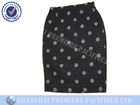 Printed 100% cotton ladies short skirt