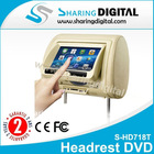 7 inch tft headrest monitor with usb sd