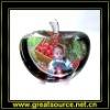 Sublimation Crystal---Apple shape