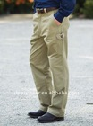mens cotton drill utility work trousers