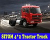 SITOM Medium-size Tractor Truck 4*2 STQ4188L2Y93 Standard-Model