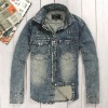 men's denim coat ,fashion coat,hot sell coat