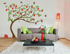 2012 Hot Selling Colorful Tree Design Vinyl Wall Tile Decal&Sticker For Home Decor