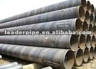 API 5L Welded Steel Pipe / Black Steel Tube