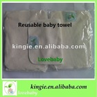 100% bamboo towel or wipe,reusable,