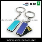 keychain usb flash drive, metal twister usb disk 1-64gb, best selling usb drive