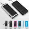 High capacity mobile phone 1350mAh solar charger with 1 LED