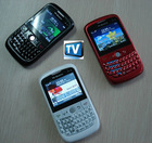 MINI E82 TV+Dual sim cards dual standby + TV +Qwenty keyboard+ Trackball +JAVA/YAHOO/MSN/GOOGLE+ Dual Bluetooth + camera