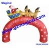 Inflatable Santa Sleigh Merry Christmas Arch