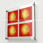 CAM-WM012 Shenzhen Acrylic Frameless Photo Frames, Perspex Frameless Photo Frames, Lucite Frameless Photo Frames