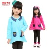 2012Newest kids beautiful model dresses winter cute sets for 2-12 years girls
