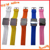 2013 New Promotional Gift Shape Adjustable led digital rubber bracelet watch