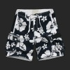 Fashion style full floral mens pocket beachwear