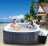 MSpa Inflatable & Portable Spa, Square Hot Tub Alpine B-090