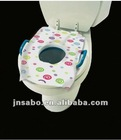 Wholesale Disposable toilet seat cover for children adults/BPA free/waterproof baby potty cover/Potty Topper for baby and people