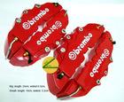 3D Brembo Red Brake Caliper Cover Kit-Red