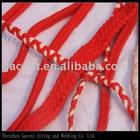 plaited belt braided tape garment accessories fashion belt