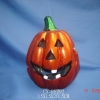 dolomite pumpkin candle holder