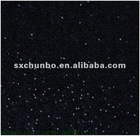 100% polyester grey plush sequin embroidery fabric in Textiles Produces