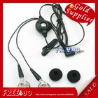 Earphones with mic and earphone clip for Blackberry