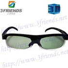 IR Wireless Active Shutter TV 3D Glasses for Sharp LCD