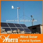 High Performance 3KW Off Grid Hybrid Solar Wind Power System For Hone Use With 1.2KW Solar Cell
