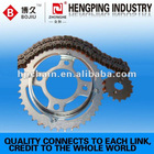 428H motorcycle chain and sprocket kits