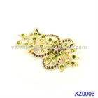 2012 Fashion flower brooch pin