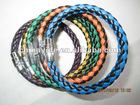 fashion new genuine leather bangle,leather bracelet,nappa bracelet