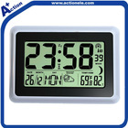 weather station and radio controlled digital wall clock