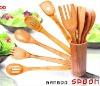 LFGB standar bamboo spoon set