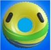 2012 new fashion promotion eco-friendly plastic PVC inflatable swimming ring